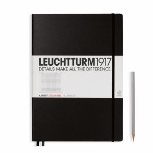 notebook-master-a4-hardcover-233-numbered-pages-squared-black
