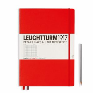 notebook-master-a4-hardcover-233-numbered-pages-squared-red