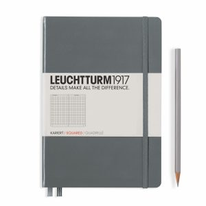 notebook-medium-a5-hardcover-249-numbered-pages-squared-anthracite
