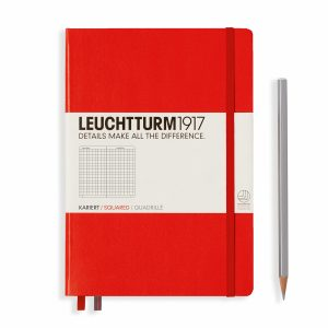 notebook-medium-a5-hardcover-249-numbered-pages-squared-red
