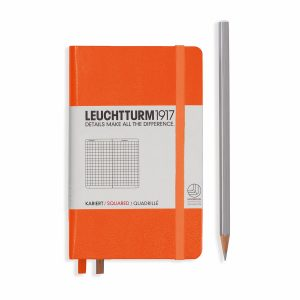 notebook-pocket-a6-hardcover-185-numbered-pages-squared-orange