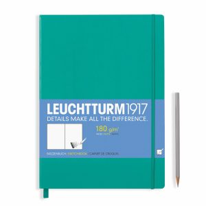 sketchbook-master-a4-96-pages-180-g-sqm-plain-emerald