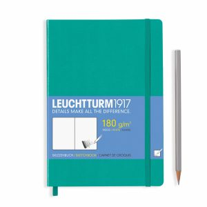 sketchbook-medium-a5-96-pages-180-g-sqm-plain-emerald