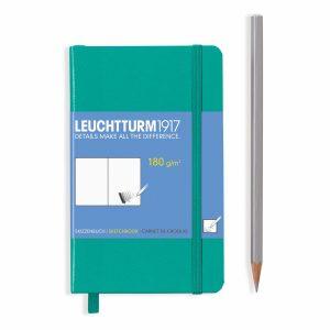 sketchbook-pocket-a6-96-pages-180-g-sqm-plain-emerald