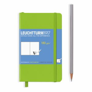sketchbook-pocket-a6-96-pages-180-g-sqm-plain-lime