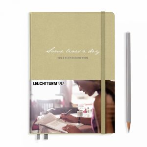 some-lines-a-day-5-year-memory-book-medium-a5-sand