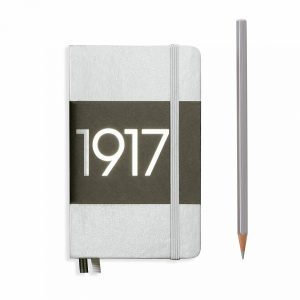 notebook-pocket-a6-dotted-hardcover-187-numbered-pages-silver