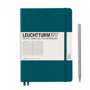 notebook-medium-a5-lined-hardcover-251-numbered-pages-pacific-green