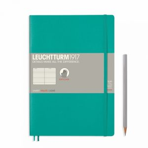 notebook-composition-b5-softcover-123-numbered-pages-ruled-emerald