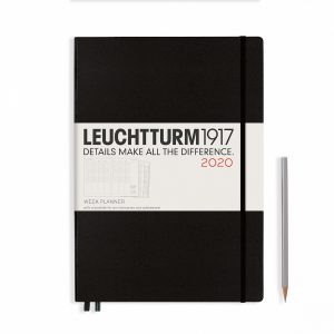 week-planner-master-a4-2020-with-extra-booklet-black-english
