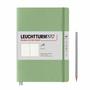 notebook-medium-a5-softcover-123-numbered-pages-sage-dotted